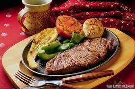 Steak feses