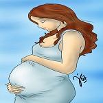 Ilustrasi hamil