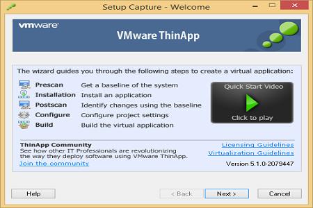 VMWare Thinapp 5.1