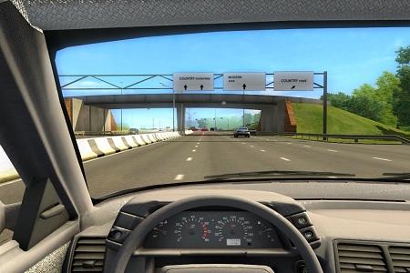 City Car Driving Menu