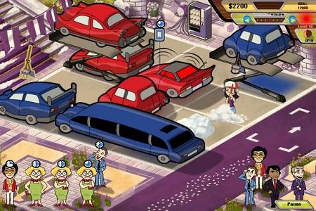 Parking Dash Menu
