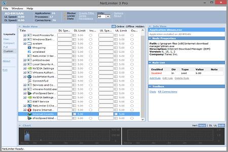 NetLimiter 3 Pro Main