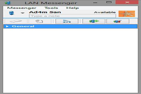 LAN Messenger Main