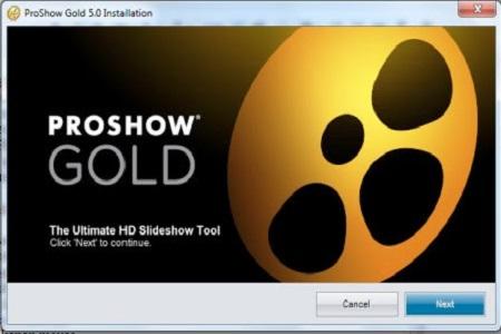 Photodex ProShow Gold 5 Main
