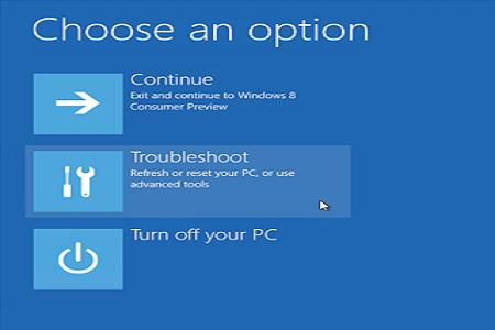 PC Setting 1 Menu
