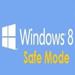 Windows 8 safe mode logo