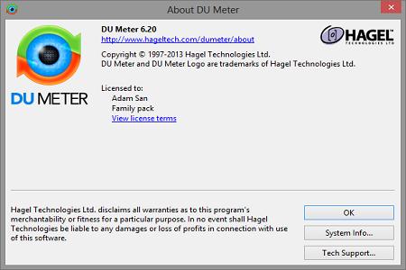 DU Meter 6.2 Main