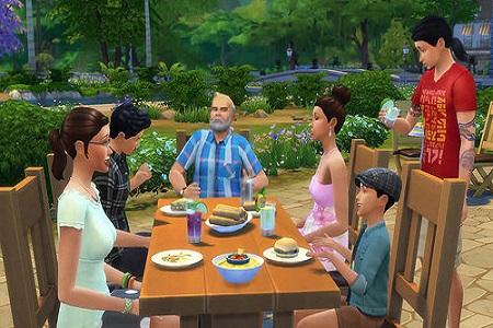 The Sims 4 Menu