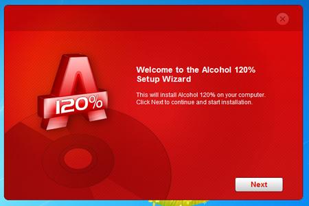 Alkohol 120 Menu