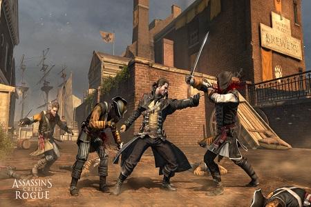 Assasins Creed Rogue Menu