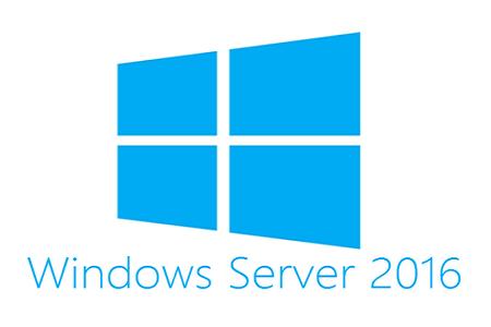 Win Server 2016 menu