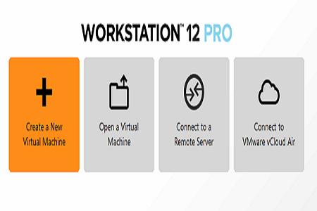 VMWare 12 menu