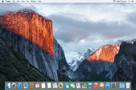 OS X Menu