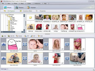 UltraSlideshow menu
