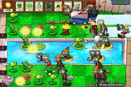 Plant Vs Zombies Menu