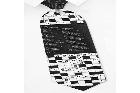 Dasi teka-teki silang