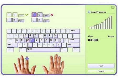 Typing Master Menu