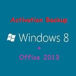 Win 8 office 2013 backup