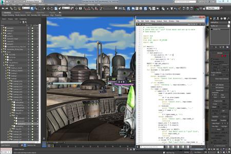 Autodesk 3ds 2015 Menu
