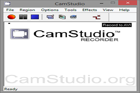 Camstudio 2.7 Menu