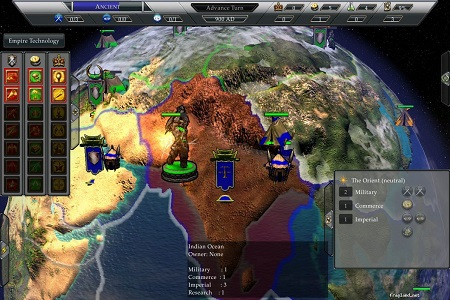 Empire Earth 3 Menu