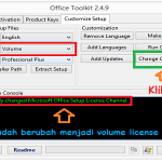Cara Convert Office 2013 Retail Ke Volume License!!