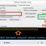Cara Convert Office 2013 Retail Ke Volume License!!