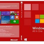 Windows 8.1 All In One Juli 2018!!