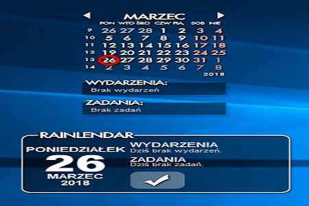 Rainlendar 2.14 Pro