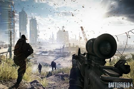 Battlefield 4 Menu