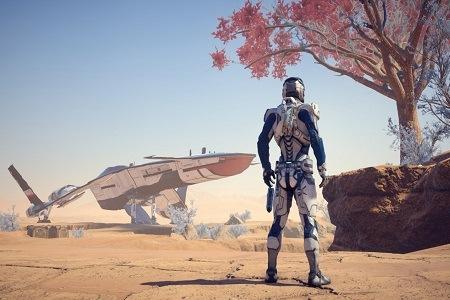 Mass Effect Andromeda Menu