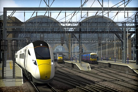Train Simulator 2015 Menu