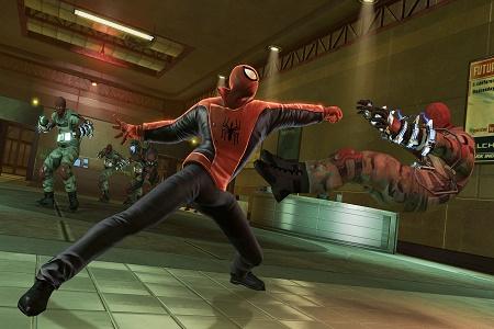 The Amazing Spiderman 2 Menu