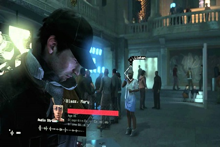 Watch Dogs Menu