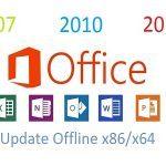 Update Offline Office 2007, 2010 Dan 2013 (Agustus 2017)!!