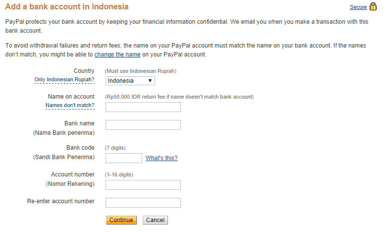 Paypal 7.1