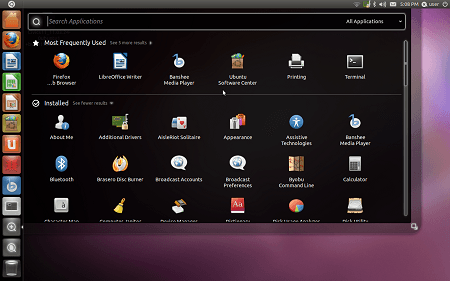 Ubuntu 11.04 Beta Desktop