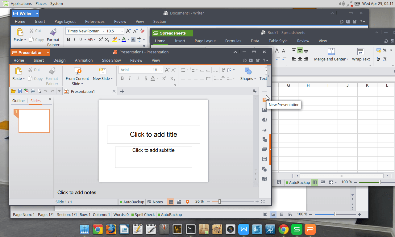 WPS Office Alternatif Office Untuk Linux Mint