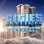 Cities Skylines Snowfall!!