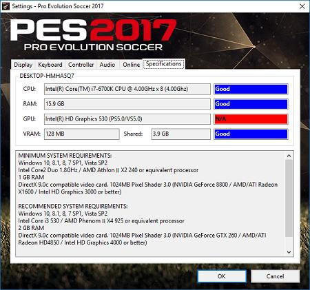 dxcpl 64 bit pes 2017