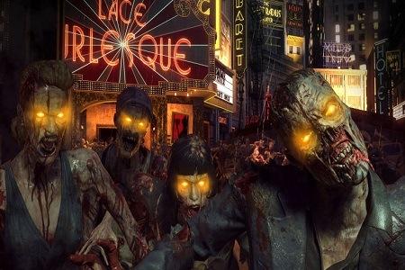 COD Zombies Menu
