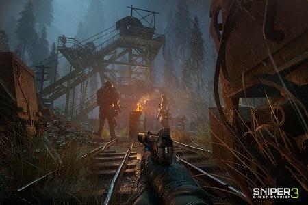 Sniper Ghost Warior 3 Menu
