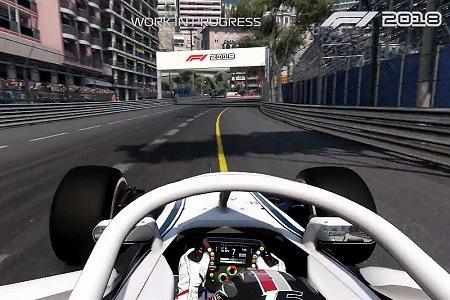 F1 2018 Menu