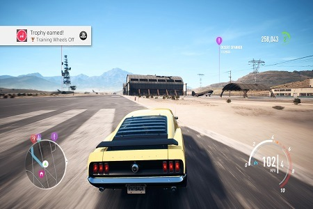 Need For Speed Payback Menu