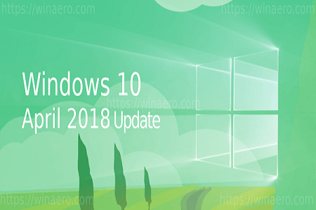 Win 10 April Update