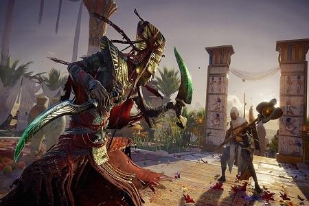 Assassins Creed The Origin Pharaohs Menu