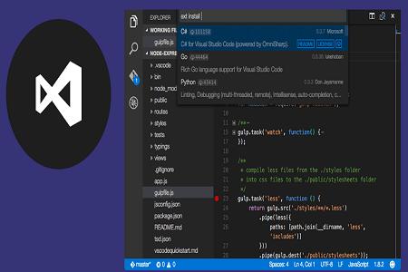 Visual Studio 2019 Menu