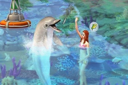 The Sims 4 Island Living Menu