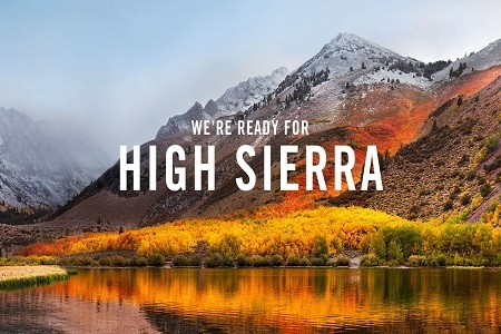High Sierra Menu