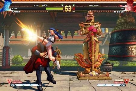 Street Fighter V Arcade Edition Menu